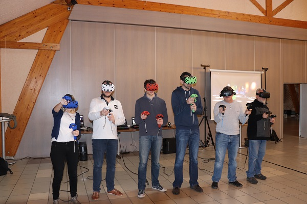 Team-Building entreprise - Team-Building entreprise pour l'entreprise Axians axians (réalité virtuelle, team building, animation, événementiel, virtual reality, vr, digital, technologie, fun, team, cohésion, innovation, Team-Building entreprise)