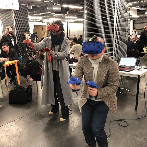 Team-Building entreprise - Team-Building entreprise pour l'entreprise ITS GROUP its (réalité virtuelle, team building, animation, événementiel, virtual reality, vr, digital, technologie, fun, team, cohésion, innovation, Team-Building entreprise)