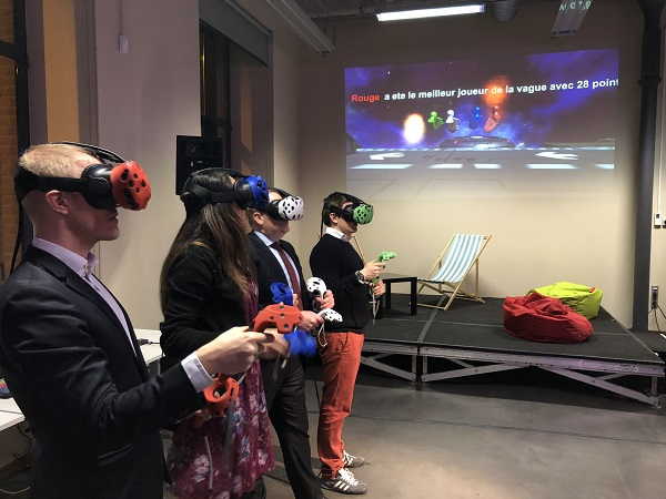 Team-Building entreprise - Team-Building entreprise pour l'entreprise PWC pwc (réalité virtuelle, team building, animation, événementiel, virtual reality, vr, digital, technologie, fun, team, cohésion, innovation, Team-Building entreprise)